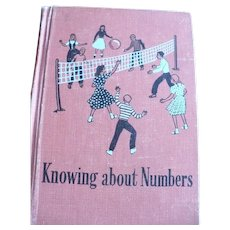 Knowing About Numbers School Book 1952