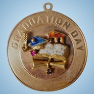 14K Gold Graduation Charm
