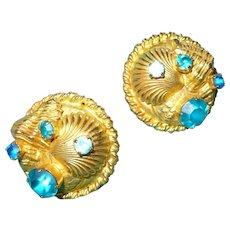Dominique Paris Seashell Earrings