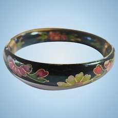 Floral Cloisonne Bracelet