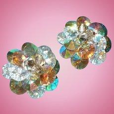 Vendome Borealis Rhinestone Earrings