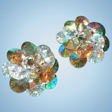 Vendome Borealis Rhinestone Earrings