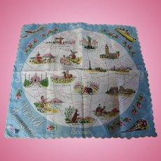 World Panorama Handkerchief Franshaw