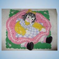 Child's Doll Handkerchief