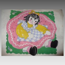 Child's Doll Handkerchief