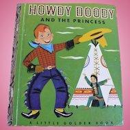 Howdy Doody Golden Book