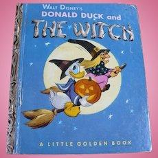 Donald Duck Golden Book