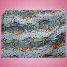 Cowboy Western Knit Fabric