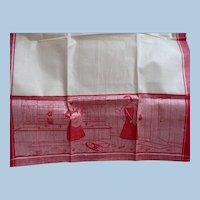 Woven Dish Towel 1930's