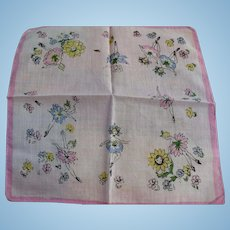 Dancing Flowers Handkerchief