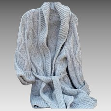 Burberry Wool Wrap Sweater