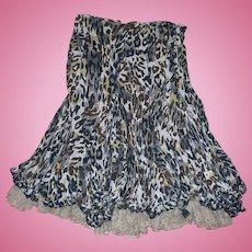 Alberto Makali Leopard Print Skirt