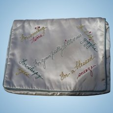 Satin Handkerchief Case