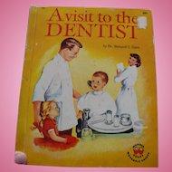 1959 Visit to Dentist Children's Book