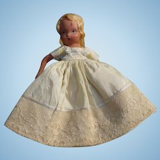 Nancy Ann Yellow Dress Doll