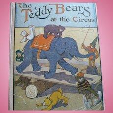 Teddy Bears Circus Book  1907