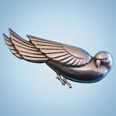 Sterling Norseland Bird Pin