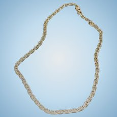 "14K Link Chain 17"" Necklace"