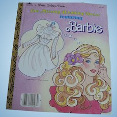 Barbie Golden Book Missing Wedding Dress