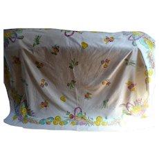 Vegetable Basket Tablecloth