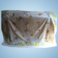 Vegetable Basket Tablecloth
