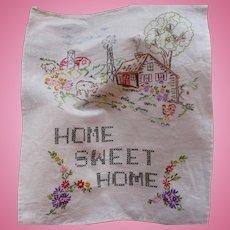 Farm Home Sweet Home Sampler