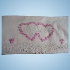 Embroidered Mother Pillowcase