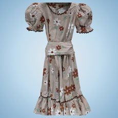 Rockabilly Print Dress