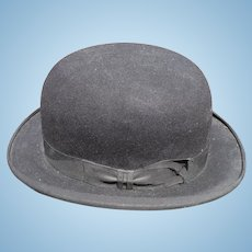 Mens Black Derby Hat