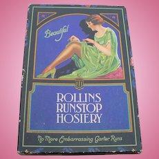 Rollins Hosiery Box 1940's