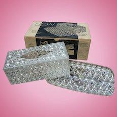 Lucite Tissue Box Tray