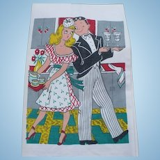 Waiter Couple Towel
