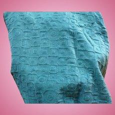 Reversible Velvet Quilt