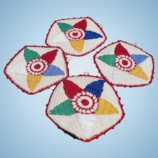 Crochet Star Potholders