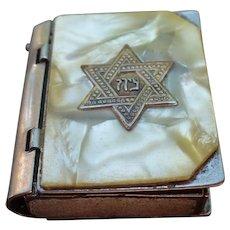 Jewish Star Pillbox