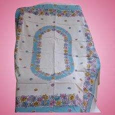 Cotton Print Tablecloth