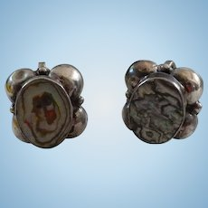 Abalone Sterling Earrings