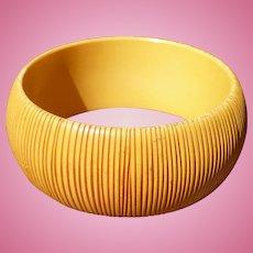 Bakelite Carved Bracelet