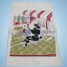 Print Poodle Towel