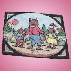 Cat  Family Rug