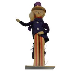 Clothes Pin Uncle Sam