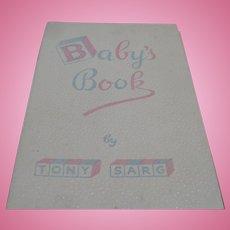 Tony Sarg 1943 Baby Book