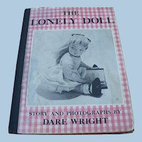 Lonely Doll Book First Edition 1957