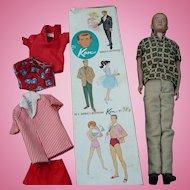Ken Doll Clothes Box
