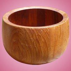 Dansk Teak Wood Salad Bowl