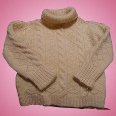 Handknit Childs Sweater
