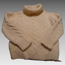 Handknit Childs Sweater