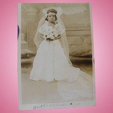 Black Child Bride Photo