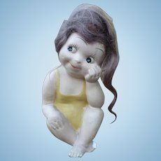 Oh You Kid Chalkware Doll
