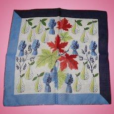 Autumn Harvest Handkerchief